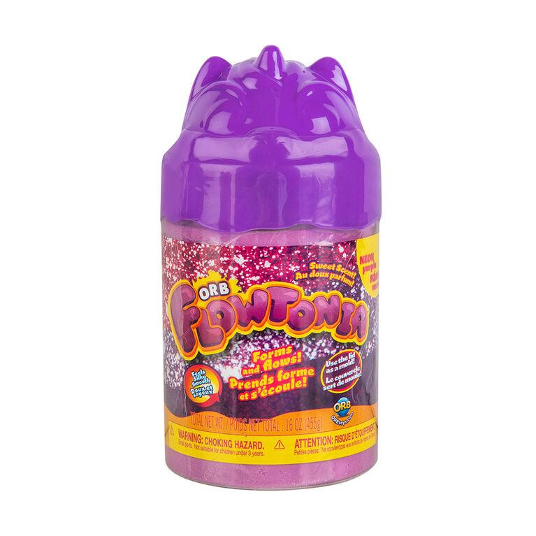 ORB Flowtonia Animal Lid Jar Purple