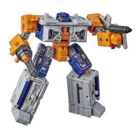 Transformers Toys Generations War for Cybertron: Earthrise Deluxe WFC-E18 Airwave Modulator Figure