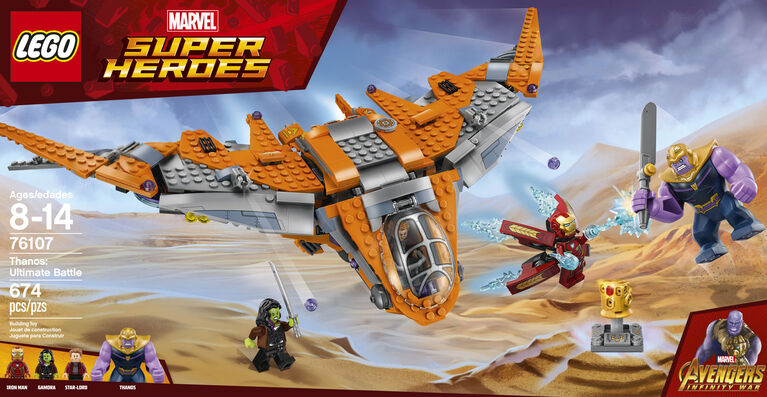 LEGO Super Heroes Thanos: Ultimate Battle 76107