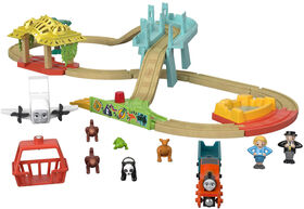 Fisher-Price Thomas & Friends Wood Big World Adventures Set