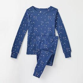 happy dream organic sleep set, 2y - dark blue