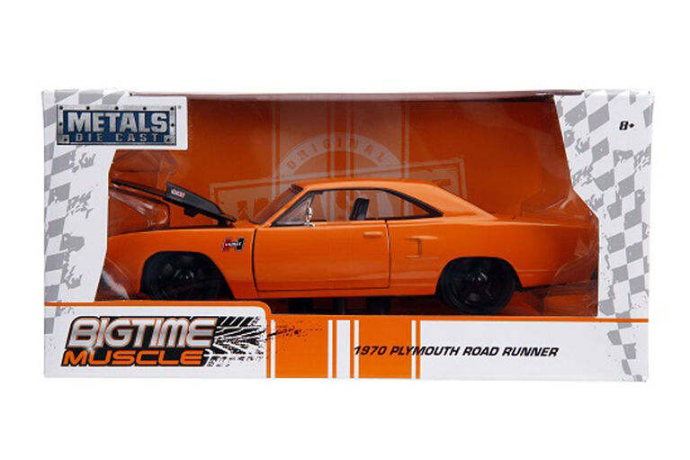 Big Time Muscle 1:24 1970 Plymouth Road Runner