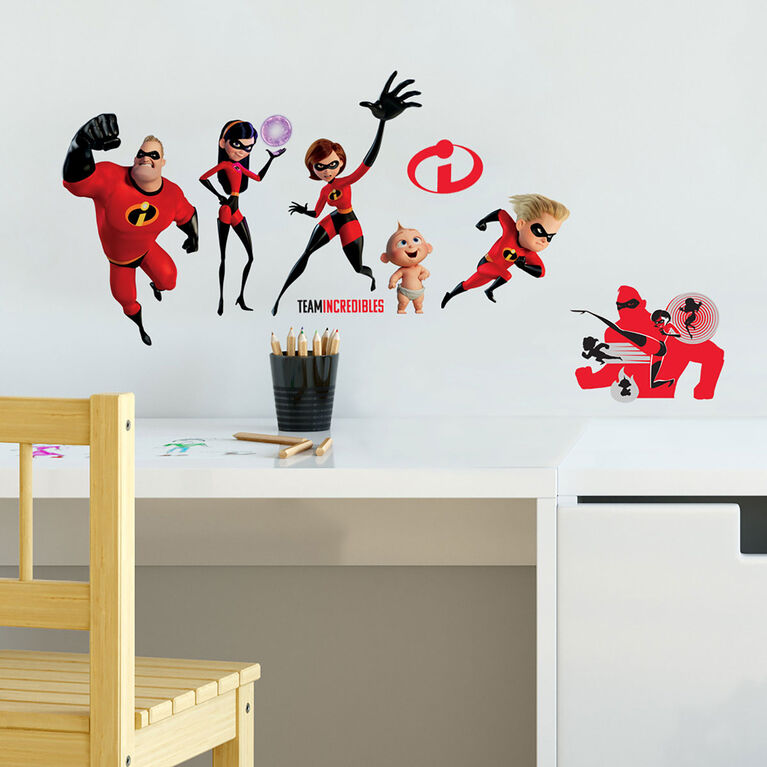 Incredibles 2 Peel & Stick Wall Decals