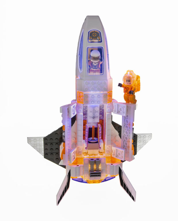 Laser Pegs Mission Mars Collection - Mars Silverhawk