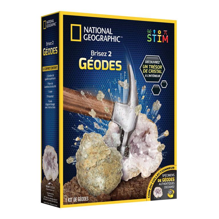 National Geographic - Ouvrez deux géodes