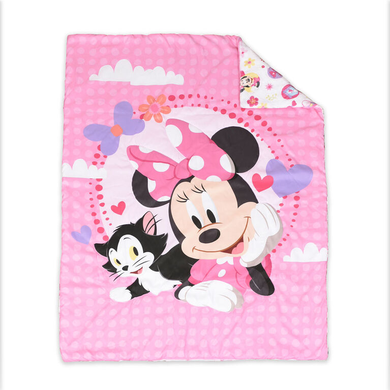 Nemcor - Disney Minnie Mouse 3-Piece Toddler Bedding Set