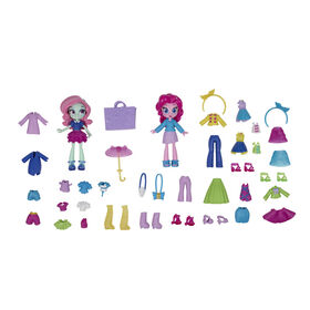 My Little Pony Equestria Girls Fashion Squad Pinkie Pie and Minty Mini Doll Set - R Exclusive