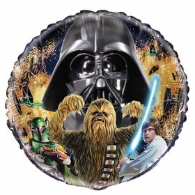 "Star Wars Classic Round Foil 18"""