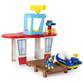 Paw Patrol – Adventure Beach Sea Patrol Beach Tower Playset with Chase Figure and Exclusive Vehicle