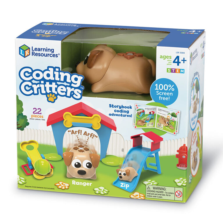 Learning Resources - Coffret Coding Critters Ranger & Zip