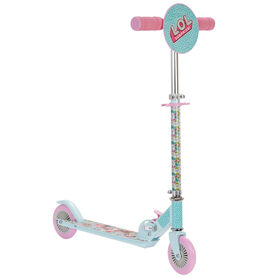 Trottinette pliante LOL Surprise! - rose/bleu