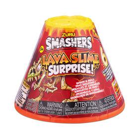 Slime de lave surprise Smashers par ZURU