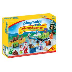 Playmobil - 123 Christmas in the Forest of Animals Advent Calendar