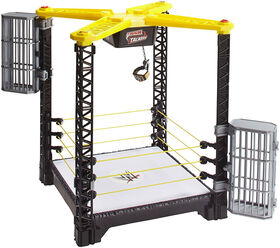 WWE Tough Talkers Championship Takedown Ring Playset - R Exclusive