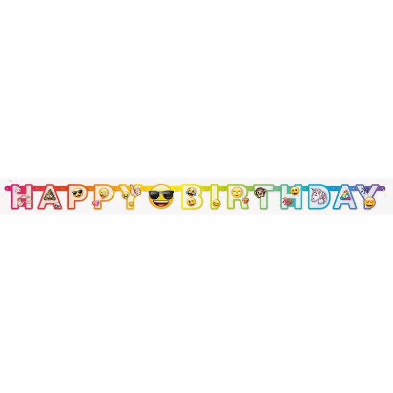 Rainbow Emoji Grande bannière - Édition anglaise