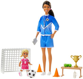 Barbie Soccer Coach Dolls