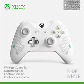 Xbox One Wireless Controller - Bluetooth - Sport White