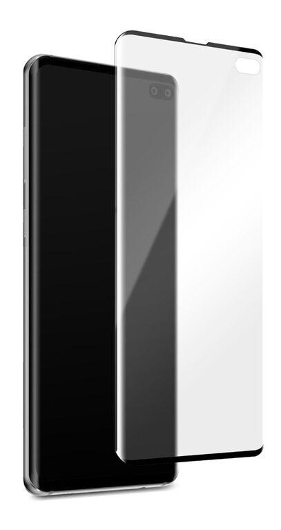Blu Element Protecteur D'écran en Verre Courbé 3D pour Galaxy S10+
