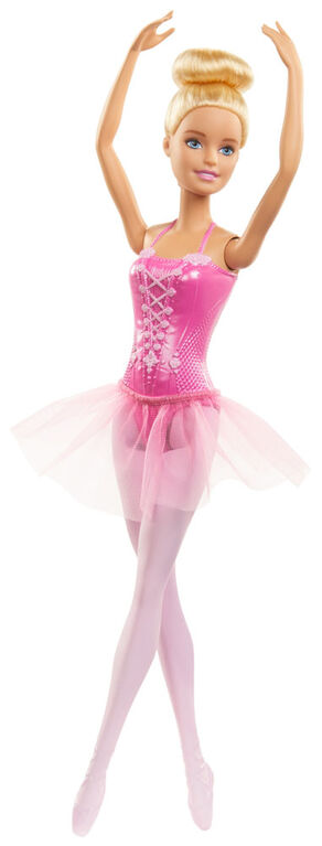 Barbie Ballerina Doll with Tutu and Sculpted Toe Shoes