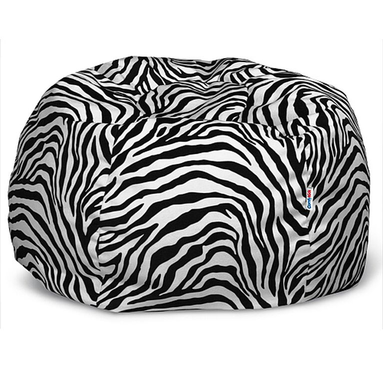 Comfy Kids - Comfy Teen Bag Beanbag in Zebra