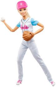 Barbie Baseball Player Doll