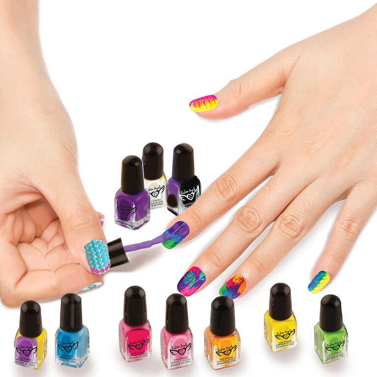 Fashion Angels - 2-in-1 Nail Design Super Set