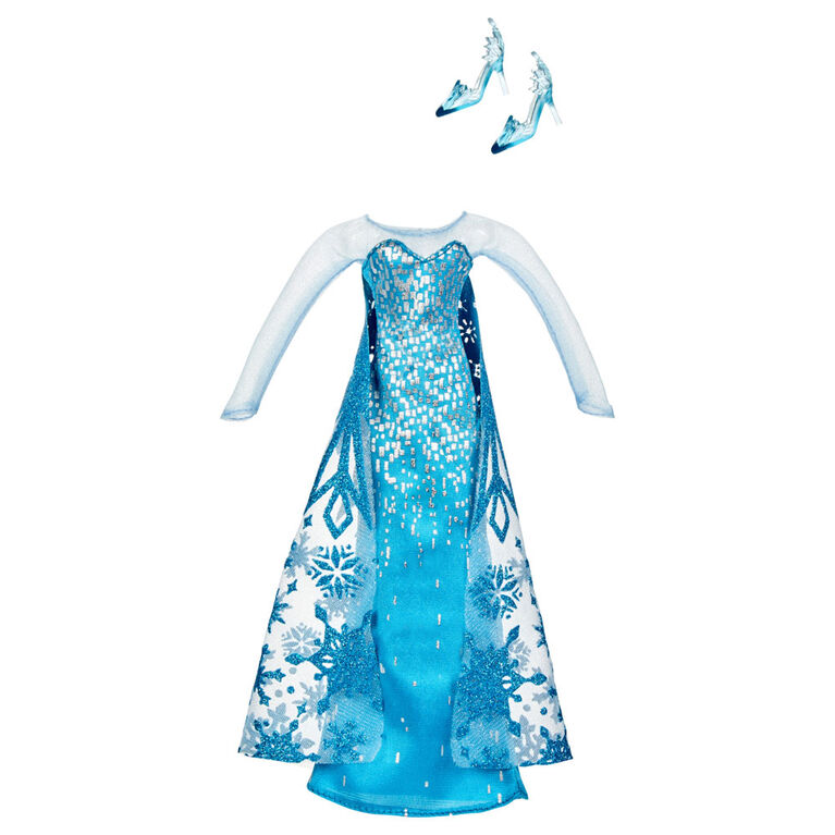 Disney Frozen Elsa's Style Set Fashion Doll With 3 Dresses - R Exclusive