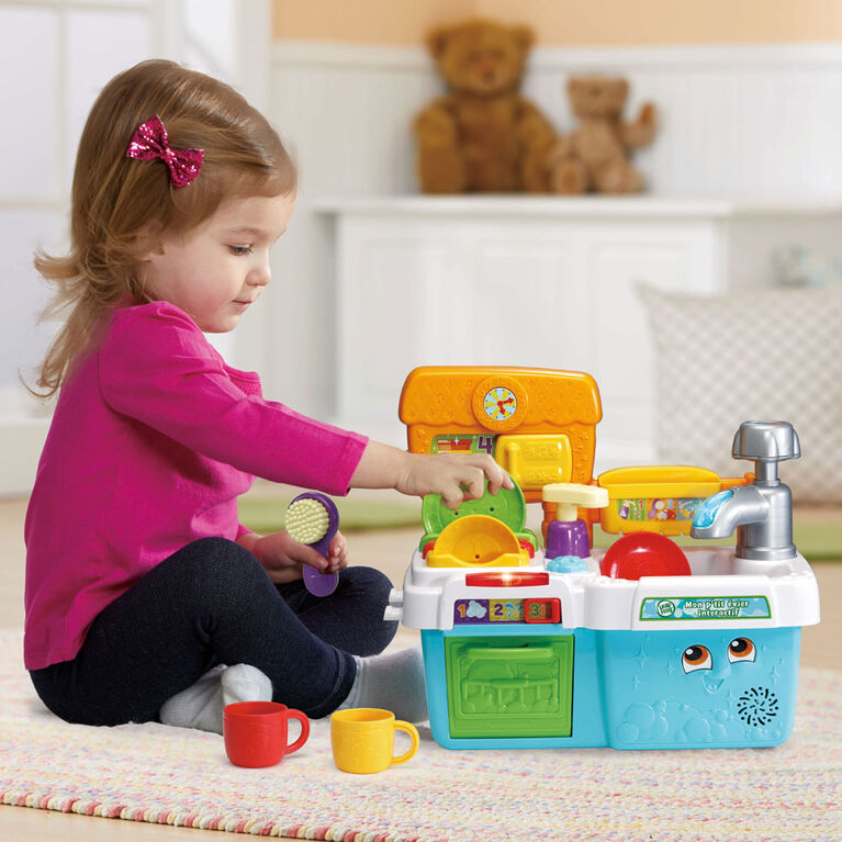 LeapFrog Scrub 'n Play Smart Sink - French Edition