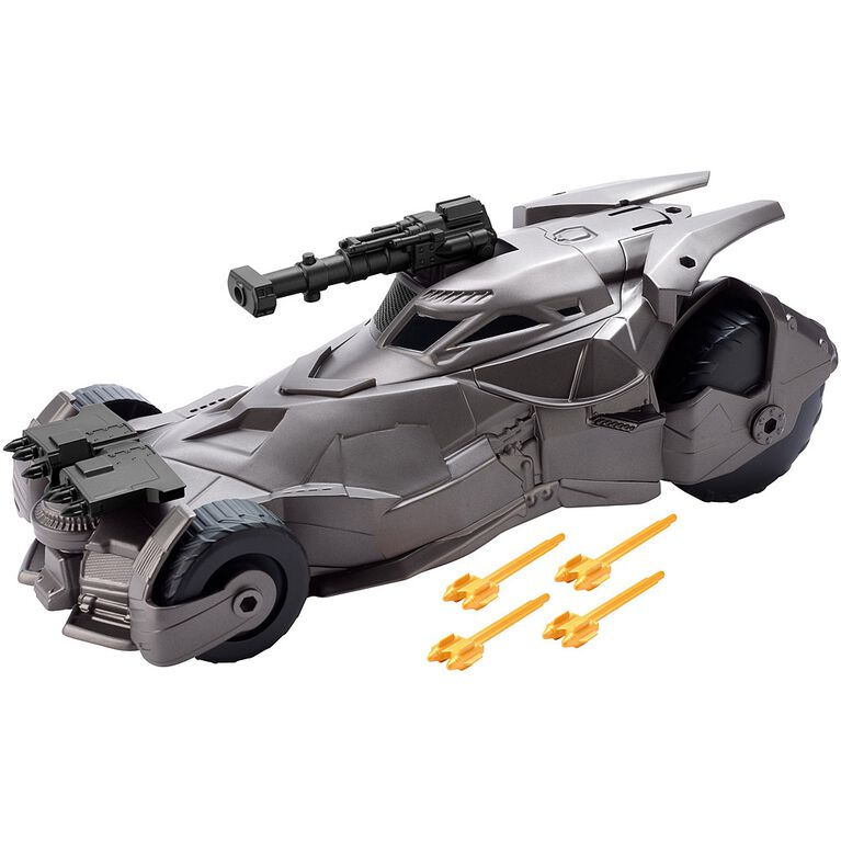 Justice League 6-inch Mega Cannon Batmobile Vehicle