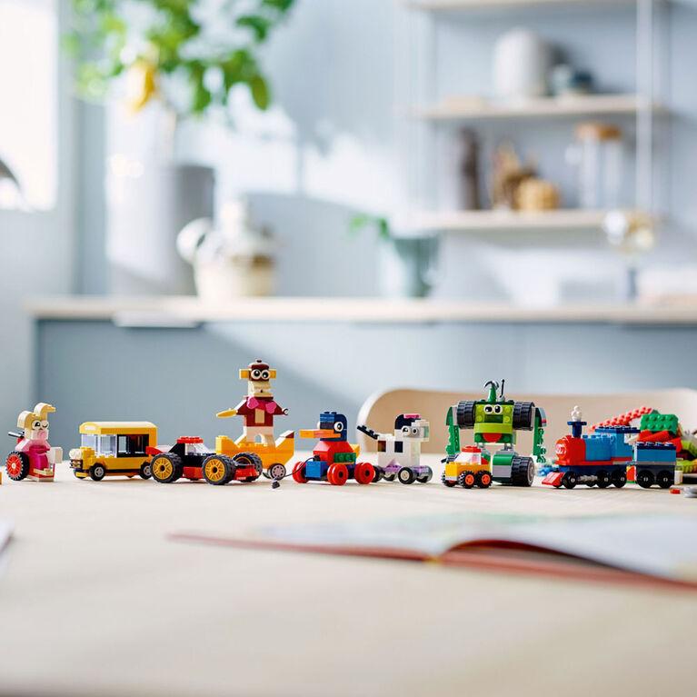LEGO Classic Bricks and Wheels 11014