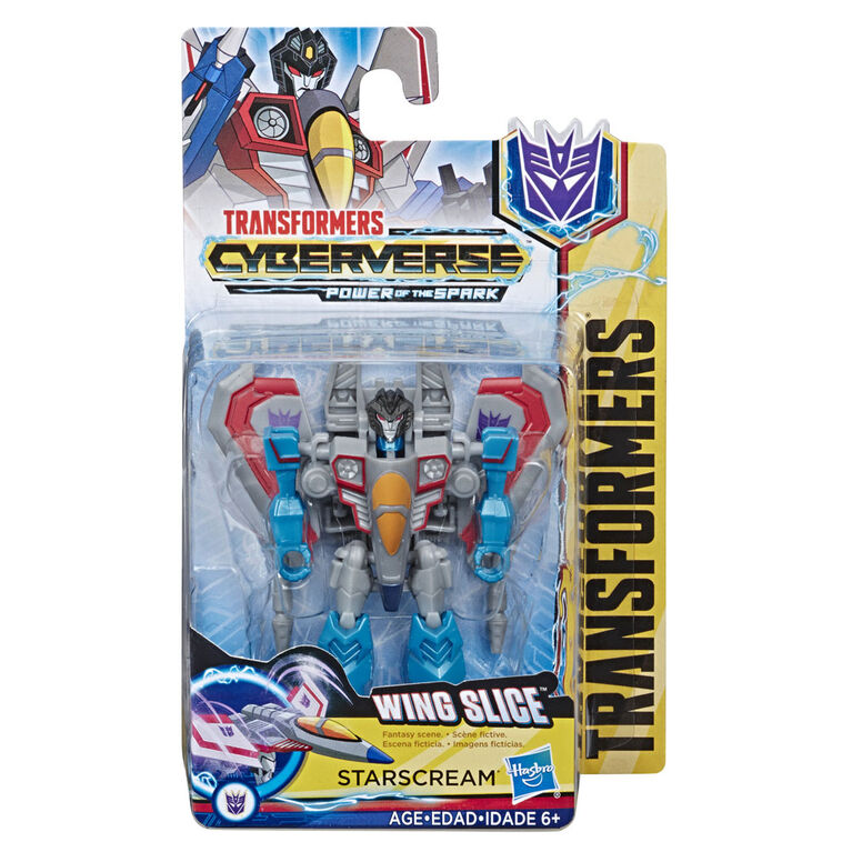 Transformers Cyberverse - Starscream de classe éclaireur