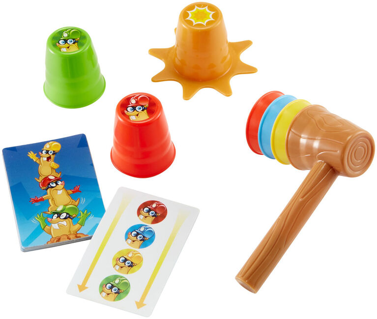 Whac-a-mole Stack-a-mole Fast Fun Game