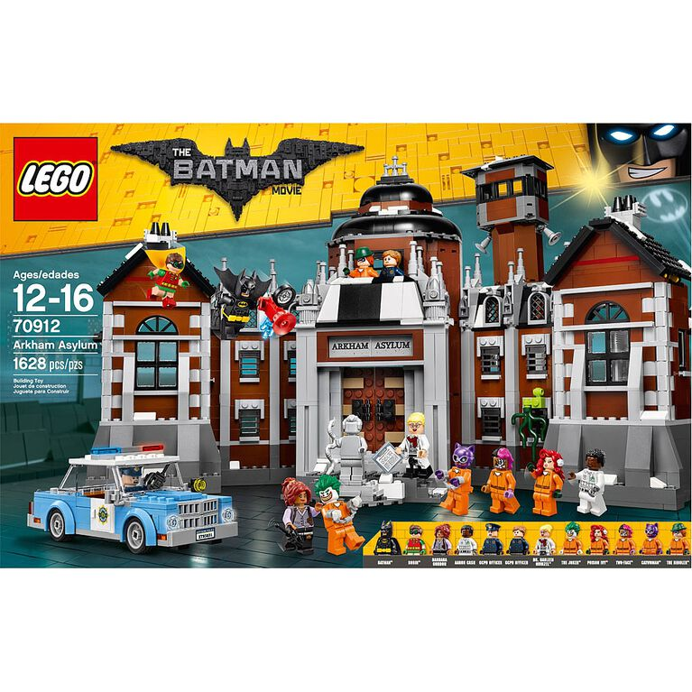 Lego Batman Movie Arkham Asylum 70912 Toys R Us Canada