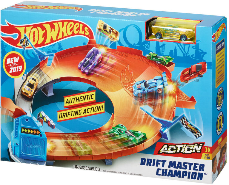 Hot Wheels Drift Master Champion, Playset - English Edition