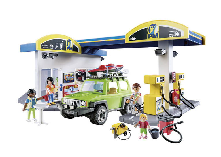Playmobil Gas Station 70201