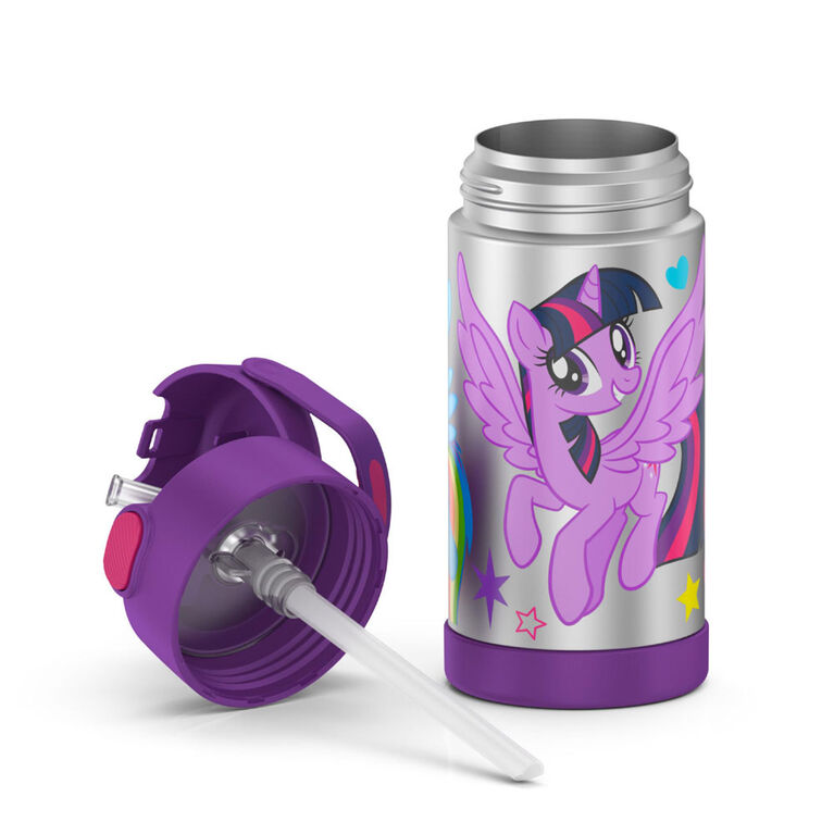 Thermos FUNtainer Stainless Steel Water Bottle - My Little Pony, 355ml