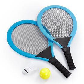"Out and About 215"" Racket Set Blue"