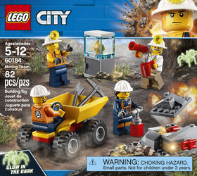 LEGO City Mining Mining Team 60184