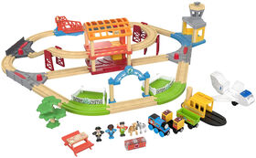 Fisher-Price Thomas & Friends Wood Busy Island Set