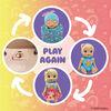 Baby Alive, Baby Grows Up  - Happy Hope, poupée de bébé qui croît et parle, avec accessoires mystères
