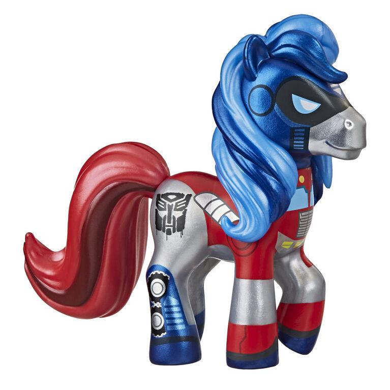 Collection Fusion My Little Pony et Transformer, My Little Prime, poney de collection inspiré des Transformers - Notre exclusivité