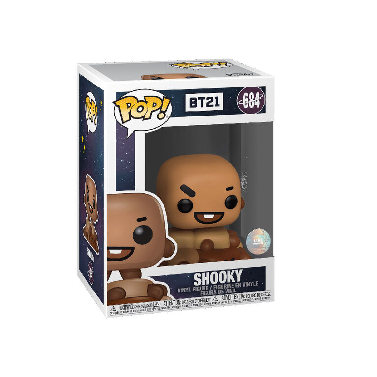 Figurine en Vinyle Shooky Par Funko POP! BT21