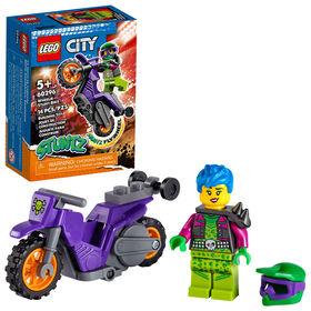 LEGO City Stuntz Wheelie Stunt Bike 60296