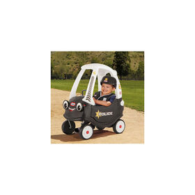 Little Tikes Police Cozy Coupe Themed Role Play Ride-On Toy - R Exclusive