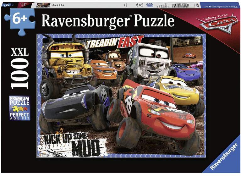 Ravensburger - Cars - Boue casse-têtes 100pc