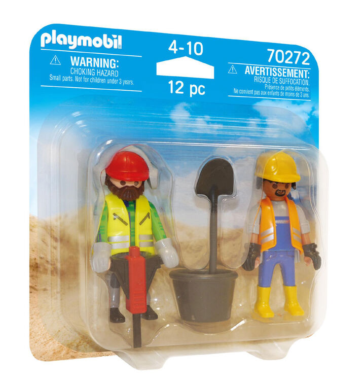 Playmobil - Construction Workers