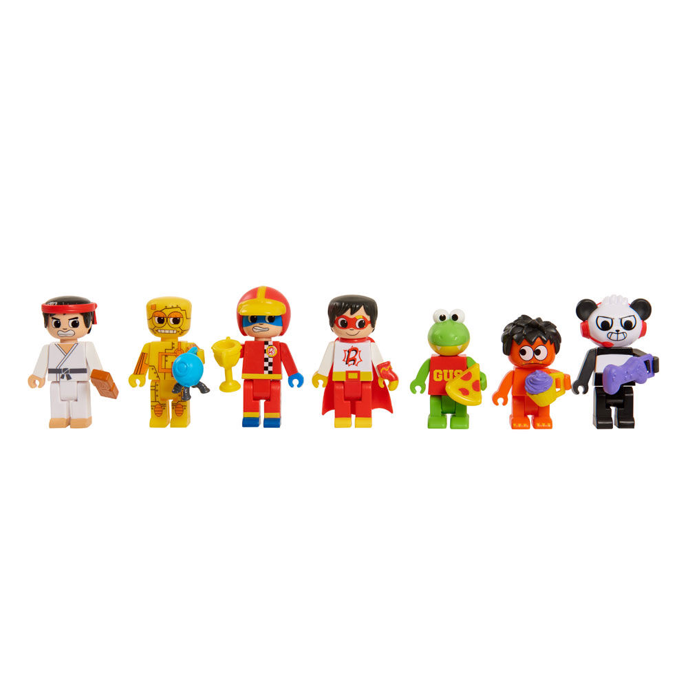 RYAN/'S WORLD Lego Type Mystery Fig Series 1 COMBO PANDA w Controller ULTRA RARE