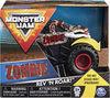 Monster Jam, Official Zombie Rev 'N Roar Monster Truck, 1:43 Scale