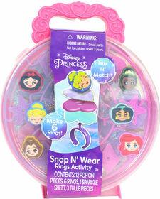 Bagues Princess Snap N Wear - Édition anglaise