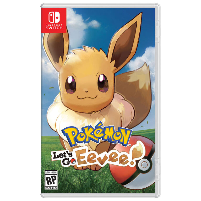 Nintendo Switch - Pokémon Let's Go, Eevee!
